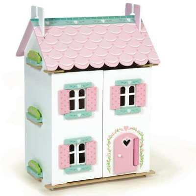 Le Toy Van - Doll House Sweetheart Cottage with Furniture