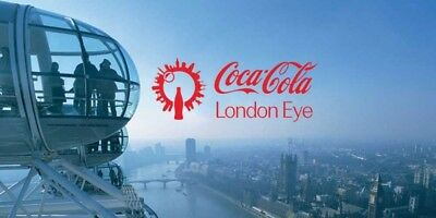 2 x Adult + 1 x Child Tickets for London Eye - Tussauds - Aquarium - 1 day TOUR