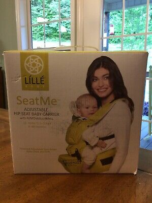 Lille Baby SeatMe Baby Carrier NEW - Grey Cotton color