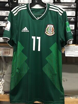6befa1255 Adidas Mexico Home Jersey  11 Carlos Vela Size Small Only