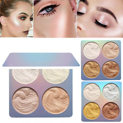Long Lasting Contour Brightener Facial Contour Palette 3D Shimmer Highlighter