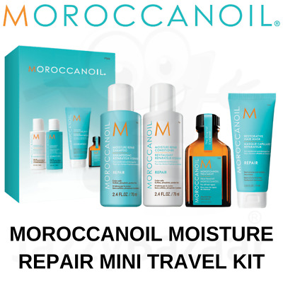 MOROCCANOIL Shampoo Conditioner Travel Size Hair Moisture Repair Treatment Kit