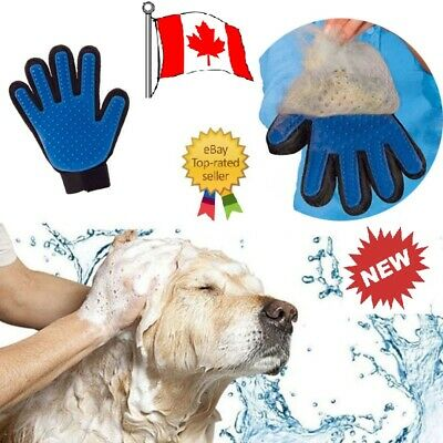 Pet Cat Glove Grooming Brush Massage Dog Hair Deshedding Removal Cleaning Tools