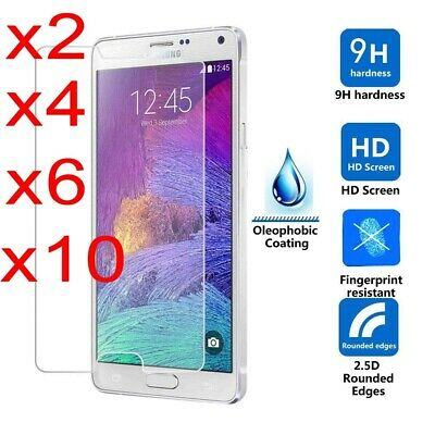 For Samsung Galaxy S7/S6/S5/S4 Screen Protector Tempered Glass Cover Film Sw Lot