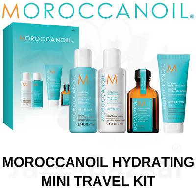 MOROCCANOIL Shampoo Conditioner Travel Size Hair Hydration Repair Treatment Kit