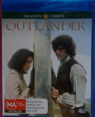 Outlander Season 3 Box Set Blu-ray Region B AUSTRALIAN FORMAT.