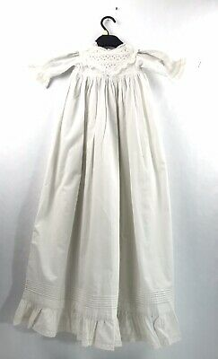 VICTORIAN Genuine Original Baby Christening Gown Worn in 1898 (See Photo 11)