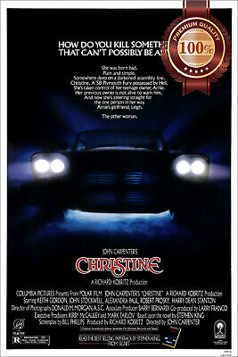 New Christine 1983 Official Original Cinema Movie Film Art Print Premium Poster