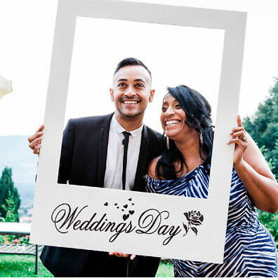 48x68cm Photo Booth Props Frame Wedding Day Marry Engagement Selfie Photography