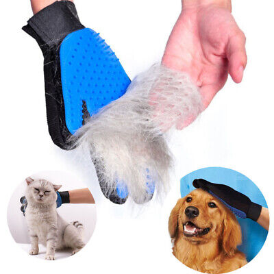 Pet Glove Dog Cat Bath Grooming Cleaning Brush Massage Glove Hair Remover Brush