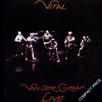 Cd Van Der Graaf Live Vital Nuovo Sigillato Originale Sealed Original New