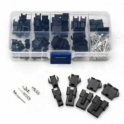 200pcs 2/3/4/5Pin Male/Female Pin Jumper Header Housing Wire Connector Plug Kits