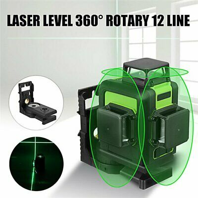 Huepar 3D Laser Green / Red 12 Line 360 ° Line Laser Level Laser 903CG /CR Laser