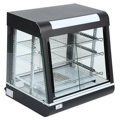 Commercial Pie Food Warmer Display Cabinet - Warming Showcase - 66cm