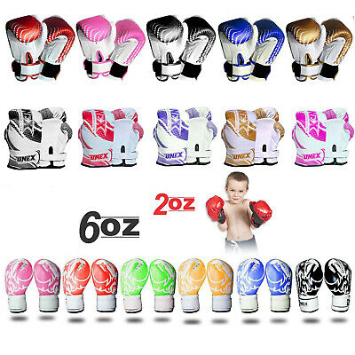 Junior Mitts Kids Boxing 20z,4oz,6oz,Boxing Gloves MMA Youth Children Gel Pad