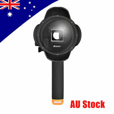 Shoot 4'' Dome Port Lens Housing Dive Photography Underwater Shell for GoPro4 3+