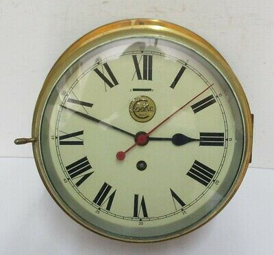 alte Schiffsuhr / Cooke Hull / Made in Great Britain / Wanduhr / maritim / Uhr