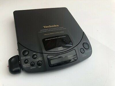 Technics SL-XP505 Personal CD Player With Remote Sensor : Tested Working