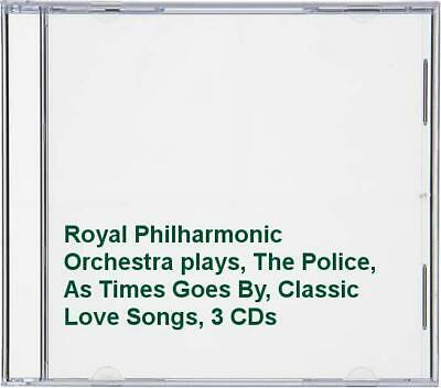 Royal Philharmonic Orchestra plays, The Police, As Times Goes By, ... -  CD 3EVG