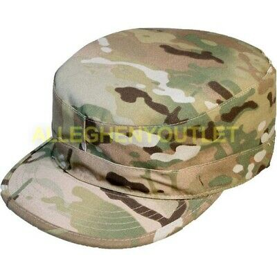 US Military Army Issue Multicam OCP Uniform Patrol Cap Hat Size 7.5 VGC