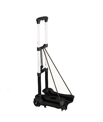 Aluminum Hand Truck Aluminum Hand Dolly Lightweight Shopping Dolly Luggage Cart