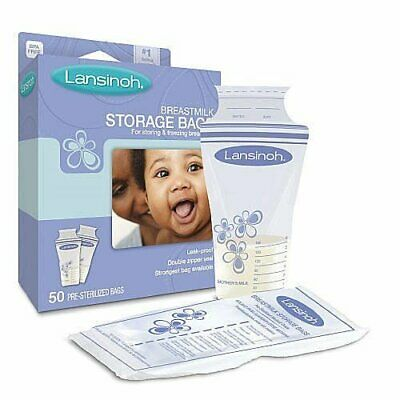 Lansinoh Breastmilk Storage Bags With Convenient Pour Spout (Pack of 2)
