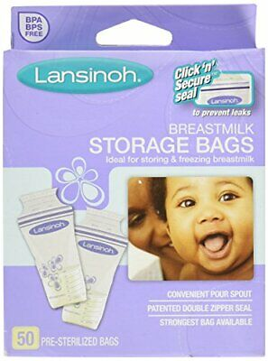Lansinoh Breastmilk Storage Bags With Convenient Pour Spout (Pack of 3)