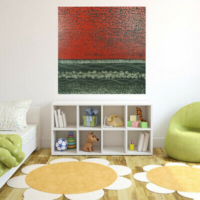 *Flower Fields* Hand Painted Art Canvas Oil Painting Abstract Home Decor Framed