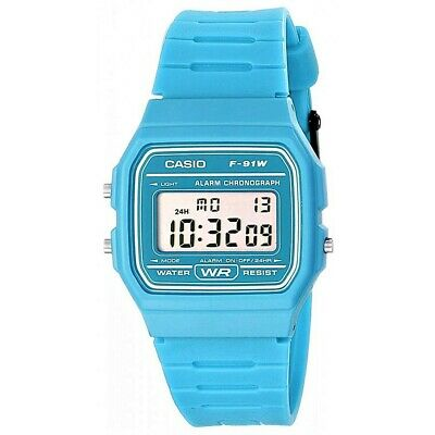 Reloj Digital CASIO F-91WC-2A - Cronometro - Alarma - CASIO Collection