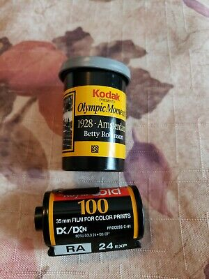 Kodak Select Olympic Moments 1928 Betty 24 exp ROYAL GOLD 100 35mm Color Film
