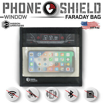 Mission Darkness Small Window Faraday Bag for Phones