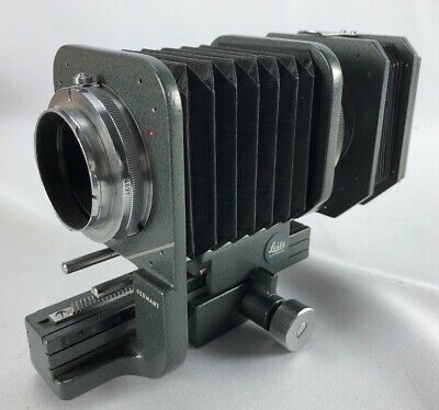 Vintage Ernst Leitz Wetzlar Bellows For Leica Flex Camera