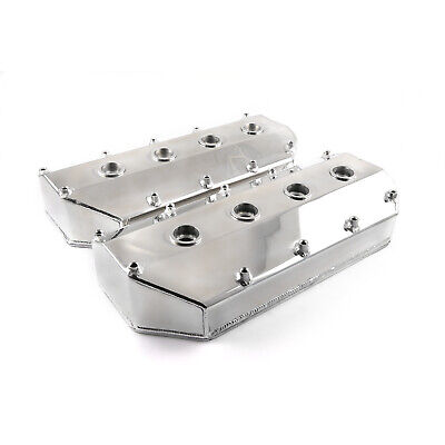 fits Chrysler Hemi 426 Polished Fabricated Aluminum Valve Covers