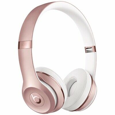 NEW Open Box Beats by Dr. Dre Solo3 Wireless Headphones - Rose Gold