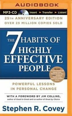 NEW The 7 Habits of Highly Effective People By Dr Stephen R Covey Free Shipping
