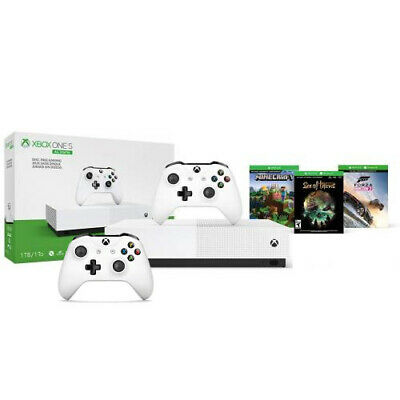 Xbox One S 1TB All-Digital Edition Console with Extra Xbox Wireless Controller