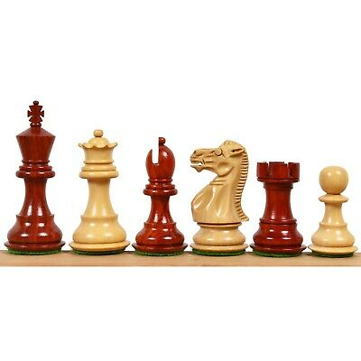 """Rosewood Galaxy Staunton Wooden Chess Set Pieces King size 3/"""" Triple Weighted"""