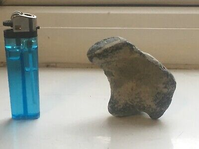 A Small Stone Badger From The Stone Age Period ((Uk )