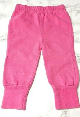 GEORGE Baby GIRLS JOGGING BOTTOMS Age 6-9 Months Pink Joggers Heart