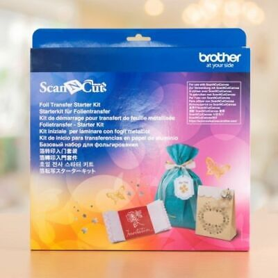 BROTHER Scan N Cut - FOIL TRANSFER STARTER KIT - Brand New - CAFTKIT1