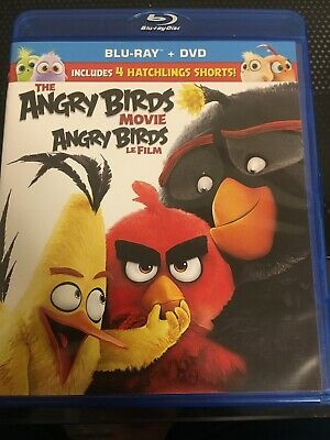 The Angry Birds Movie (Blu-Ray + Dvd) (Blu-Ray) (Bilingual)