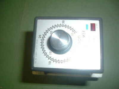 Omron .....Stp Nh2 Us ...Timer 110 Vac ...0-36 Minutes...... New Suppliers Pack