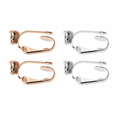 46ac9b0d5 Clip On Hoop Earring Converters No-pierced Turn Any Stud Into A Clip-On