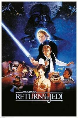 Star Wars Classic Return Of The Jedi One Sheet Poster
