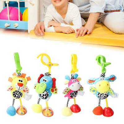 Cartoon Infant Baby Bed Crib Hanging Toy Newborn Educational Bell Rattles Toy
