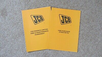 Tractor Manuals & Publications 2 Other Tractor Publications Jcb Finance Documents Circa 2001