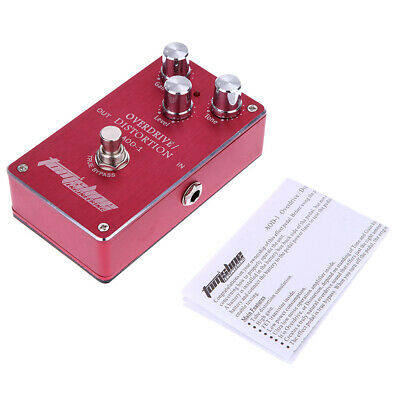 Aroma Overdrive Distortion Guitar Effect Pedal True Bypass+Free Ship New V1R5