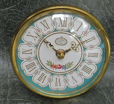 A NEW GOOD QUALITY MINTON ROSE QUARTZ CLOCK MOVEMENT INSERT SIZE 60mm