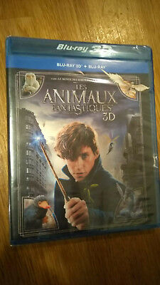 Les animaux fantastiques  - Blu-ray 3D - NEUF SOUS BLISTER