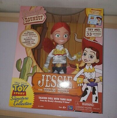 Jessie Yodeling Cowgirl Signature Collection Figure Toy Story collector thinkway
